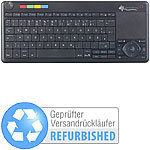 GeneralKeys Lernfähige Multimedia-Funk-Tastatur Versandrückläufer GeneralKeys Multimedia-Funk-Tastatur für PC, Set-Top-Box & Smart-TV