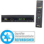auvisio Digitaler pearl.tv HD-Sat-Receiver DVB-S/S2 (Versandrückläufer) auvisio HD-Sat-Receiver