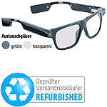 simvalley MOBILE Smart Glasses SG-100.bt (Versandrückläufer) simvalley MOBILE Brillenkameras