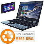 hp Probook 6450b + TREKSTOR SurfTab wintron 7.0, Win 10 (generalüberholt) hp Notebooks