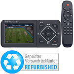 auvisio HDMI-Video-Rekorder mit Farb-Display, Full HD (Versandrückläufer) auvisio HDMI-USB-Video-Rekorder mit Full HD und Farb-Displays