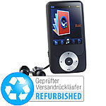 auvisio MP3-Player / Recorder mit Video-Player und UKW-Radio (refurbished) auvisio MP3- & Video Player