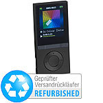 auvisio MP3-Player V3 mit UKW-Radio & E-Book-Reader (Versandrückläufer) auvisio Video- und MP3-Player mit Bluetooth
