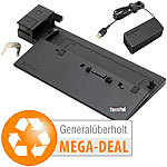 Lenovo Docking Thinkpad Pro Dock 40A1 inkl. 90-W-Netzteil (generalüberholt) Lenovo Notebook Dockingstations