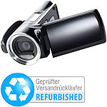 "Somikon Full HD-Camcorder ""DV-812.HD"" mit 2,7""-Display (refurbished) Somikon Full-HD-Camcorder mit Touch-Screen und App-Steuerung"