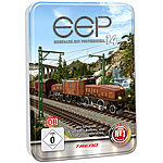 EEP Eisenbahn.exe EEP 14 expert (in Metall-Relief-Box) EEP Eisenbahnsimulationen (PC-Softwares)