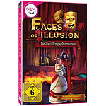 "Purple Hills Klickmanagement-Spiel ""Faces of Illusion - Die Zwillingsphantome"" Purple Hills PC-Spiele"