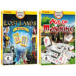 "Yellow Valley 2er-Set PC-Spiele ""Lost Lands Mahjong"" und ""Age of Mahjong"" Yellow Valley MahJongg (PC-Spiele)"