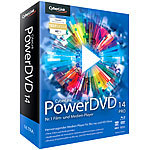 Cyberlink PowerDVD 14 Pro Mediaplayer (Software) Cyberlink Videoplayers (PC-Softwares)