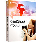 Corel PaintShop Pro X8 Corel Bildbearbeitungen (PC-Softwares)