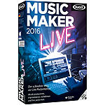 MAGIX Music Maker 2016 Live MAGIX Musikproduktion (PC-Softwares)
