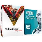 Corel VideoStudio Pro 2019 inklusive ESET Internet Security 2018 Corel Videobearbeitung (PC-Softwares)