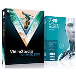 Corel VideoStudio Ultimate 2019 inklusive ESET Internet Security Corel Videobearbeitung (PC-Softwares)