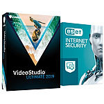 Corel VideoStudio Ultimate 2019 (inklusive ESET Internet Security) Corel Videobearbeitung (PC-Softwares)