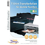 Your Design 4 T-Shirt Transferfolien für bunte Textilien A4 Inkjet Your Design T-Shirt-Druck-Folien