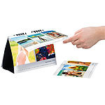 Your Design Tischkalender A5 quer 260g/m² Your Design Fotokalender Druck-Sets
