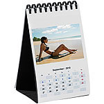 Your Design Tischkalender-Set A6 hoch 260g/m² Your Design Fotokalender Druck-Sets