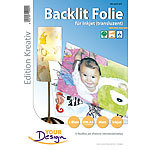 Your Design 3 Blatt Inkjet Backlit-Folie (transluzent) 170µm A4 Your Design Inkjet Backlit-Folien