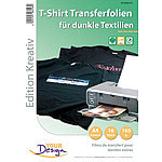 Your Design 16 T-Shirt Transferfolien für bunte Textilien A4 Inkjet Your Design