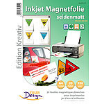 Your Design 20 Inkjet-Magnetfolien A4 matt/weiß Your Design
