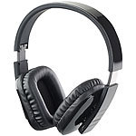 auvisio Faltbares Over-Ear-Headset, Bluetooth, Auto-Pairing, Multipoint, 30 m auvisio Faltbare Bluetooth-Headsets (Over-Ear)