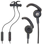 auvisio In-Ear-Stereo-Headset, magnetisch, Bluetooth, Multipoint, Auto-Connect auvisio Magnetisches Bluetooth-Headsets mit Auto-Connect (In-Ear)