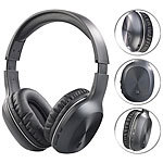 auvisio Over-Ear-Headset mit Bluetooth 4.1 & Active Noise Cancelling bis 15 dB auvisio Over-Ear-Headsets mit Bluetooth und Noise Cancelling