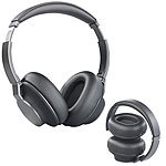 auvisio Premium-Over-Ear-Headset, Bluetooth, Active Noise Cancelling bis 25 dB auvisio Over-Ear-Headsets mit Bluetooth und Noise Cancelling