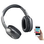 auvisio Over-Ear-Headset, Bluetooth, MP3, FM & Auto Connect, microSD bis 64 GB auvisio Over-Ear-Headsets mit Bluetooth, MP3-Player & Radio