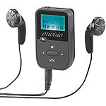auvisio 2in1-Audio-Player & Sprachrekorder, MP3/WMA/WAV, LCD-Display, microSD auvisio 2in1-Audio-Player & Sprachrekorder