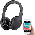 auvisio Over-Ear-Headset mit Bluetooth 5, MP3, FM, Akku, Auto Connect, 22 Std. auvisio Over-Ear-Headsets mit Bluetooth, MP3-Player & Radio