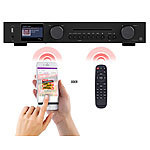 VR-Radio WLAN-HiFi-Tuner mit Internetradio, CD, DAB+, UKW & Bluetooth, MP3/WMA VR-Radio HiFi-Tuner für Internetradio und DAB+, mit CD- und MP3-Player