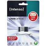 Intenso USB Stick Slim Line 32GB USB 3.0 Superspeed Intenso Mini-USB-3.0-Speichersticks