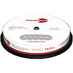 PRIMEON BD-R, 25GB, 2x10x Ultra Speed, kratzfest, 10er-Box PRIMEON