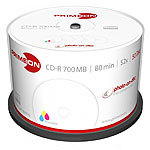 PRIMEON CD-R 700 MB, 52x, photo-on-disc, Inkjet Full Size Printable, 50-Box PRIMEON CD-Rohlinge