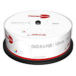 PRIMEON DVD-R, 4.7 GB, 16x, photo-on-disc, Inkjet Fullsize Printable, 25er-Box PRIMEON DVD-Rohlinge