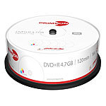 PRIMEON DVD+R 4.7 GB, 16x, photo-on-disc, Inkjet Fullsize Printable, 25er-Box PRIMEON DVD-Rohlinge