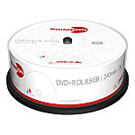 PRIMEON DVD+R Double Layer 8.5GB 8x photo-on-disc printable 25er Cake PRIMEON DVD-Rohlinge