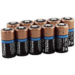 Duracell Lithium-Batterie Typ CR123, 1.400 mAh, Duralock, 10er-Pack Duracell Photo Lithium Batterien Typ CR123A