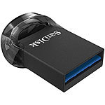 SanDisk Ultra Fit USB-3.1-Flash-Laufwerk, 128 GB SanDisk Mini-USB-Speichersticks
