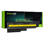 Greencell Laptop-Akku 4.400 mAh für Lenovo R61, R61e, T500, R500 ... Notebooks