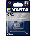 Varta Photo Lithium-Batterie, CR2, 880 mAh, 3 Volt Varta Lithium-Batterien Typ CR2