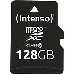 Intenso microSDXC-Speicherkarte 128 GB, Class 10, inkl. SD-Adapter Intenso