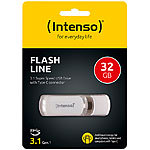 Intenso USB-C-Speicherstick Flash Line, 32 GB, Super Speed USB 3.1 Gen 1 Intenso USB-3.0-Speichersticks