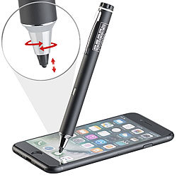 Callstel Aktiver Touchscreen-Eingabestift für iPad, iPhone & Android, 2 mm Callstel Aktive Touchscreen Eingabestifte