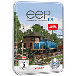 EEP Eisenbahn.exe 13 Platinum in dekorativer Metall-Reliefbox EEP Eisenbahnsimulationen (PC-Softwares)