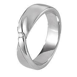 st leonhard damenring aus edelstahl mit zartrosa stein gr 52 ring