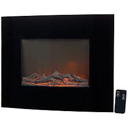 lunartec led bild kaminfeuer led wandkamin mit led flammen led kaminlicht. Black Bedroom Furniture Sets. Home Design Ideas