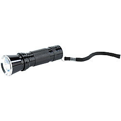 PEARL Extrahelle Power-LED-Taschenlampe mit 1-Watt-LED, 75 lm PEARL LED-Taschenlampen