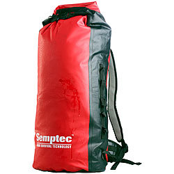 Semptec Urban Survival Technology Wasserdichter Trekking-Rucksack aus Lkw-Plane, ca. 50 l Semptec Urban Survival Technology